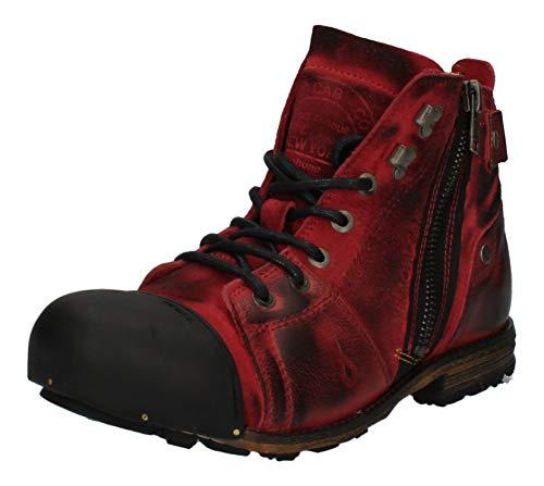Yellow Cab Y15419 Industrial 2-C - Herren Schuhe Boots/Stiefel - 700-brown, Größe:45 EU