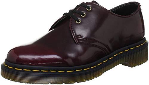 Dr. Martens Unisex Vegan 1461 Schuhe, Rosso Cherry Red, 41 EU