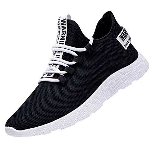 FRAUIT Herren Mesh Sneakers Sportschuhe Leicht Comfort Sicherheitsschuhe rutschfest Sportlich Jogger Schuhe Fitness...