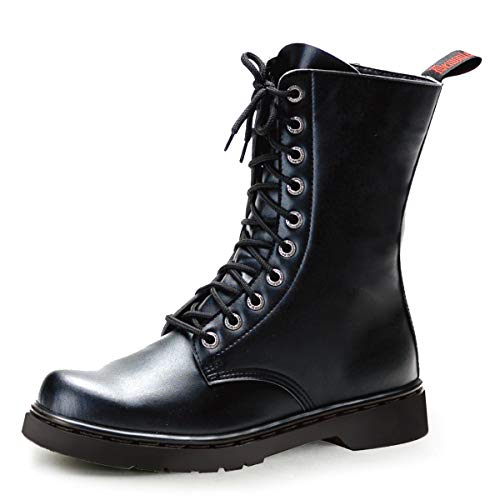 Demonia Veggie Combat Punk Boots Defiant-200 mattschw. Gr.43,5