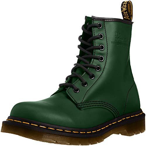 Dr. Martens Unisex 1460 Combat Boots, Grün (Green), 45 EU