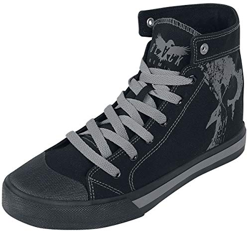 Black Premium by EMP Walk The Line Unisex Sneaker high schwarz EU40