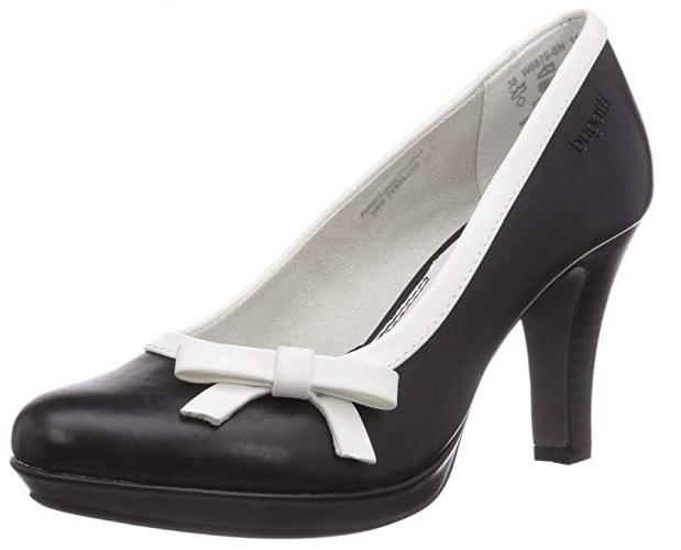 Bugatti 50er Jahre Retro Vintage Rockabilly Schuhe High Heels